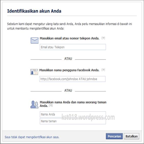 Umi Fatimah Cara Mudah Memperbaiki Facebook Yang Tidak Bisa Dibuka
